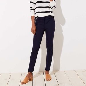 Loft Marisa Skinny black pant size 6 tall